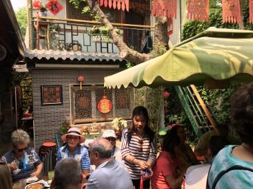 Hutong courtyard