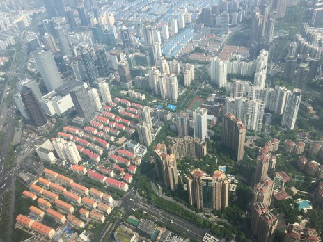 High rise apartment buildings