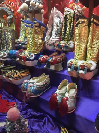 Footwear worn by opera performers