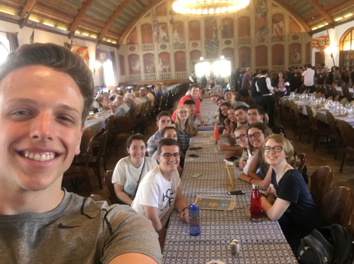 Our group at the Hofbrahaus